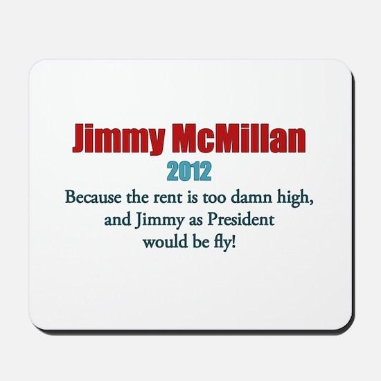 Jimmy McMillan 2012 Mousepad