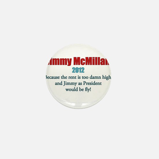 Jimmy McMillan 2012 Mini Button