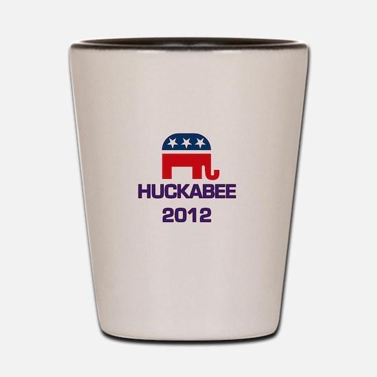 Huckabee 2012 Shot Glass