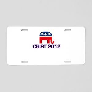Charlie Crist 2012 Aluminum License Plate
