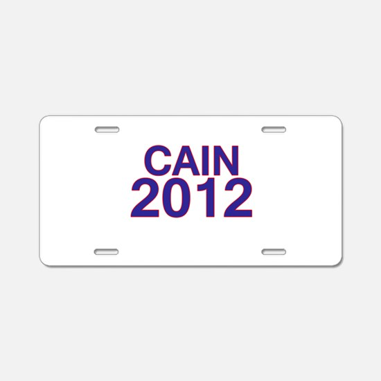 Herman Cain 2012 Aluminum License Plate