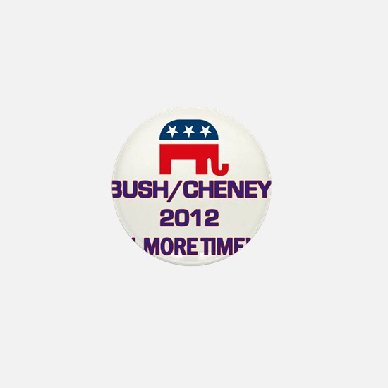 Bush Cheney 2012 Mini Button