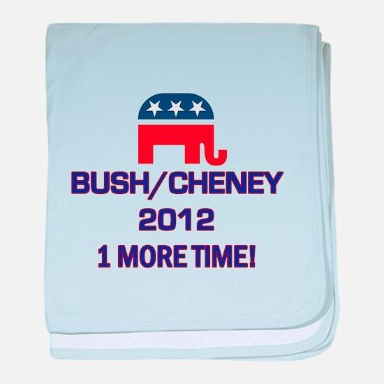 Bush Cheney 2012 baby blanket