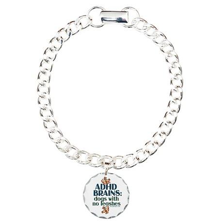 ADHD BRAINS Charm Bracelet, One Charm