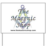 The Masonic Shop Logo Yard Sign