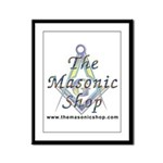 The Masonic Shop Logo Framed Panel Print