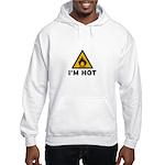 I'm Hot - Flammable Hooded Sweatshirt