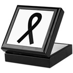 Black Ribbon Keepsake Box