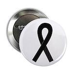 Black Ribbon Button