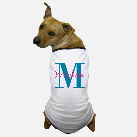 Personalize Initial and name Dog T-Shirt