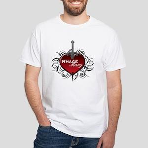 TH - Rhage & Mary - White T-Shirt