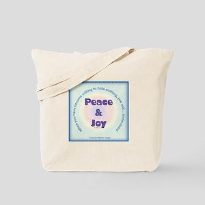 ACIM-Peace and Joy Tote Bag
