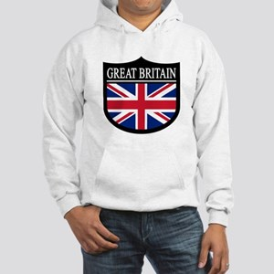 Great Britain Patch Hooded Sweatshirt
