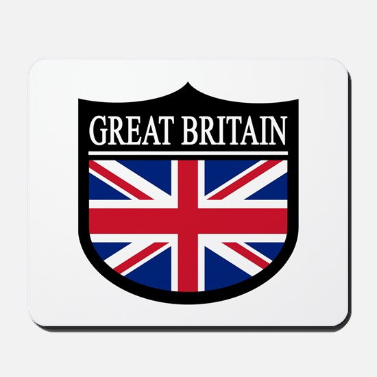 Great Britain Patch Mousepad