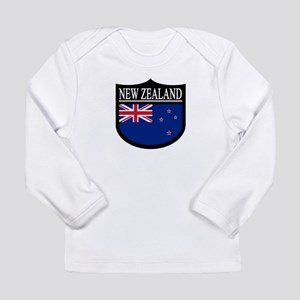 New Zealand Patch Long Sleeve Infant T-Shirt