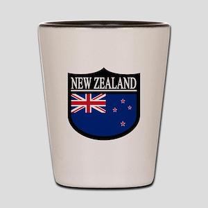 New Zealand Patch Shot Glass