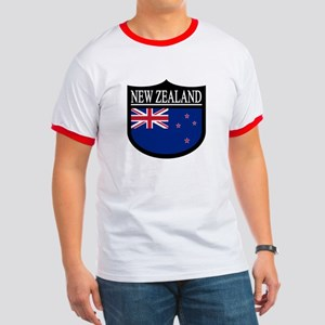 New Zealand Patch Ringer T