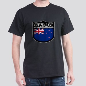 New Zealand Patch Dark T-Shirt