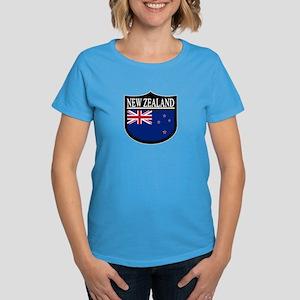 New Zealand Patch Women's Dark T-Shirt