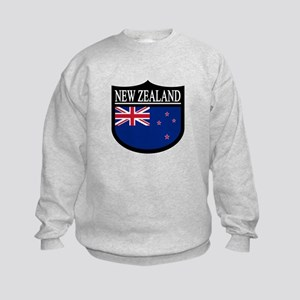 New Zealand Patch Kids Sweatshirt