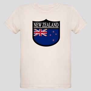 New Zealand Patch Organic Kids T-Shirt