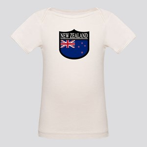 New Zealand Patch Organic Baby T-Shirt