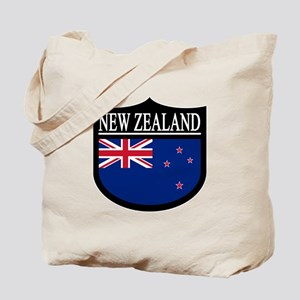 New Zealand Patch Tote Bag
