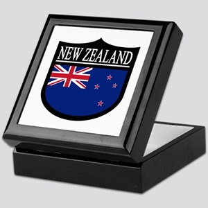 New Zealand Patch Keepsake Box