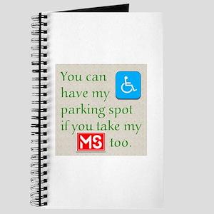 Ms Parking Spot Journal