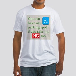 MS Parking Spot Fitted T-Shirt