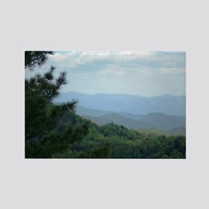 Great Smoky Mountains Rectangle Magnet