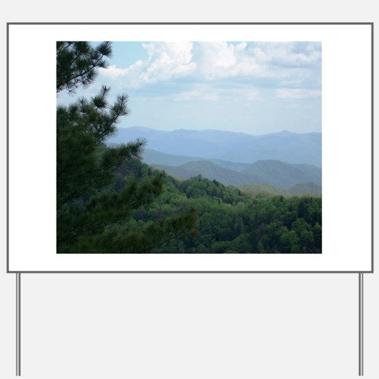 Great Smoky Mountains Yard Sign
