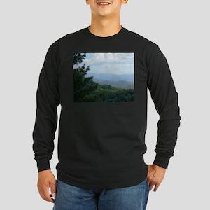 Great Smoky Mountains Long Sleeve Dark T-Shirt