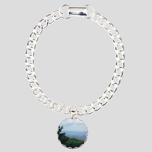 Great Smoky Mountains Charm Bracelet, One Charm