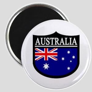 Australia Patch Magnet