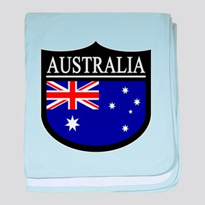 Australia Patch baby blanket