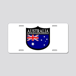 Australia Patch Aluminum License Plate