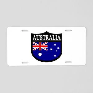 Australia Patch Aluminum License Plate