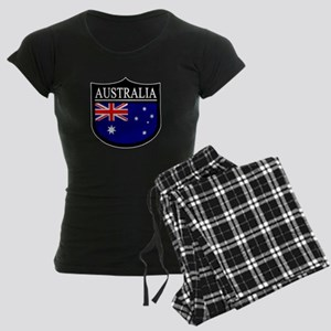 Australia Patch Women's Dark Pajamas