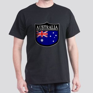 Australia Patch Dark T-Shirt