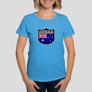 Australia Patch Women's Dark T-Shirt