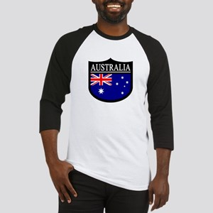 Australia Patch Baseball Jersey