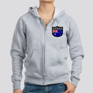Australia Patch Women's Zip Hoodie