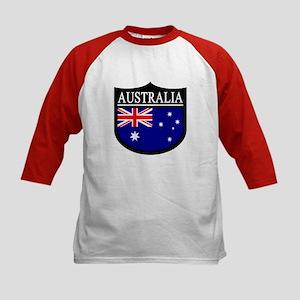 Australia Patch Kids Baseball Jersey