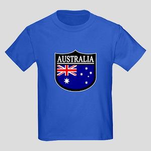 Australia Patch Kids Dark T-Shirt