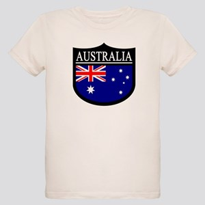 Australia Patch Organic Kids T-Shirt