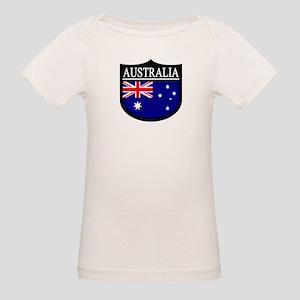 Australia Patch Organic Baby T-Shirt