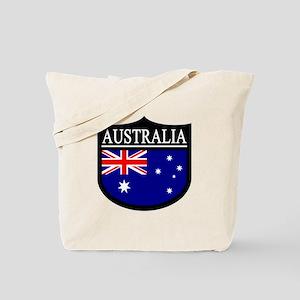 Australia Patch Tote Bag