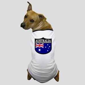 Australia Patch Dog T-Shirt