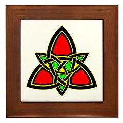 Celtic Knot Framed Tile